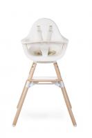 Židlička 2v1 Evolu ONE.80° Natural / White