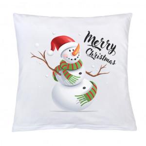 Polštář New Baby s potiskem Merry Christmas 40x40 cm