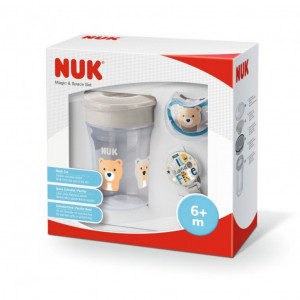 Set NUK Magic Cup Space béžový 6m+