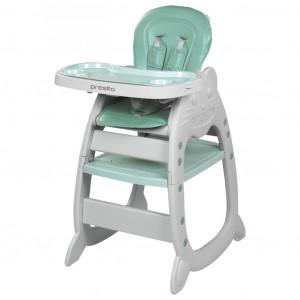 Jídelní židlička Baby Mix Presito 2v1 zelená