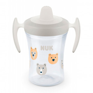 Dětský hrníček NUK Trainer Cup 230 ml bílý