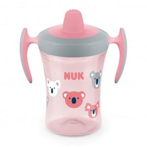 Dětský hrníček NUK Trainer Cup 230 ml růžový