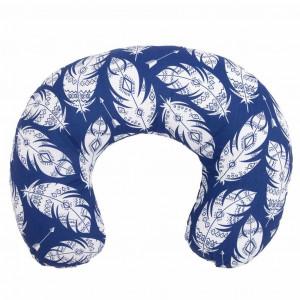 Kojící polštář New Baby Pírka modrý