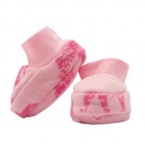 Zimní kojenecké capáčky Baby Service Sloni růžové