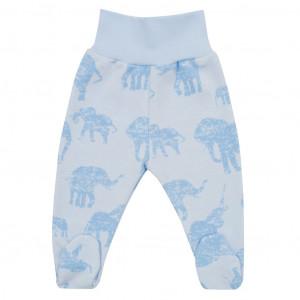 Zimní kojenecké polodupačky Baby Service Sloni modré