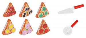Skládací dřevěná pizza