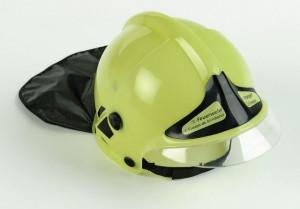 Hasičská helma svítící