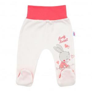 Dětské polodupačky New Baby Lovely Rabbit růžové