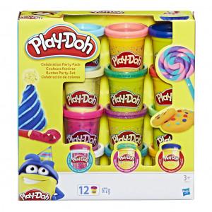 Play Doh 12 kelímků party sada