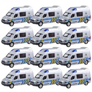 Auto kovové Policie 1:36