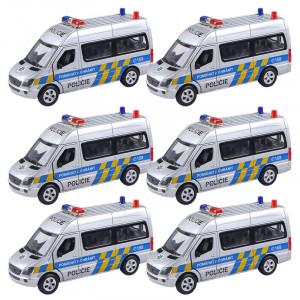 Auto kovové Policie Mercedes-Benz 1:32