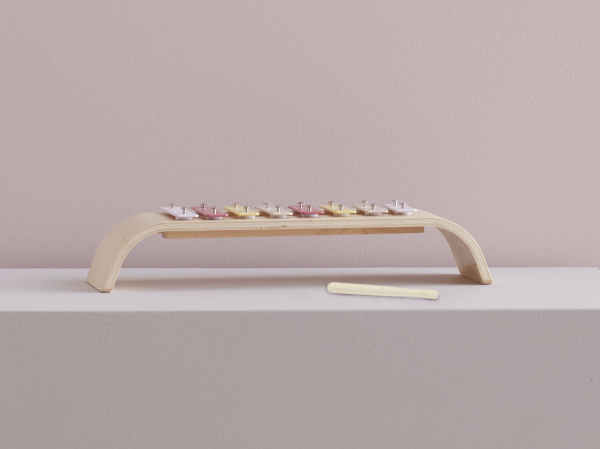Xylofon dřevěný Pink