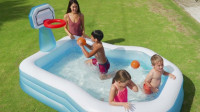 Hrací centrum / bazén Intex 57183 Basketbal 257x188x130 cm