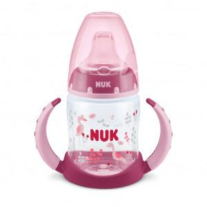 Kojenecká láhev na učení NUK 150 ml růžová