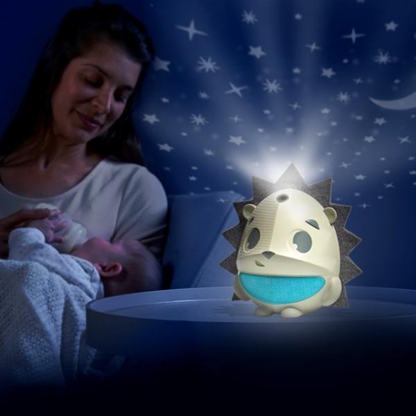 Noční lampička s projektorem a hudbou Sound n' Sleep